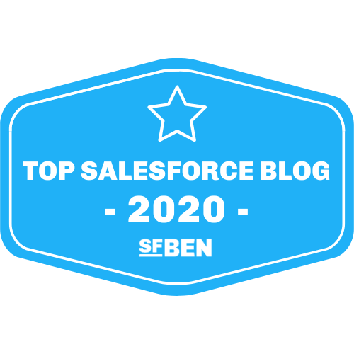Top Salesforce Blog 2020 - SFBEN