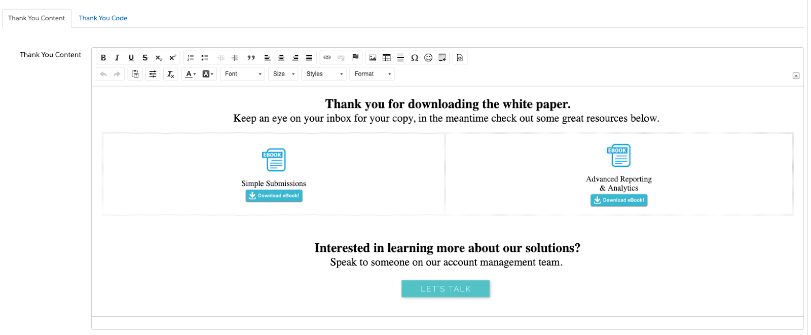 """, Comment ajouter un contenu de remerciement personnalisé aux formulaires Pardot<span class=""""wtr-time-wrap after-title""""><span class=""""wtr-time-number"""">6</span> minutes de lecture</span>"""