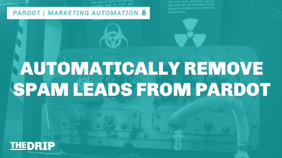 Automatically Remove Spam Leads From Pardot