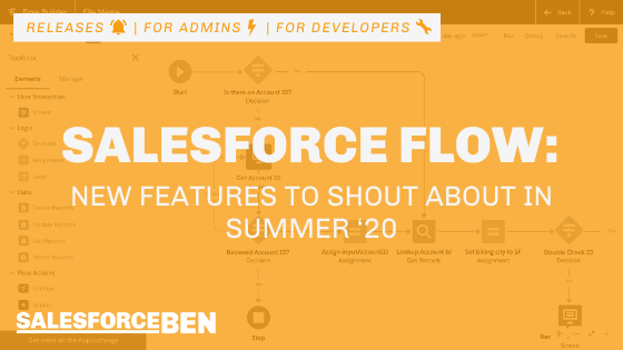 3 New Salesforce Flow Features to Shout About in Summer '20