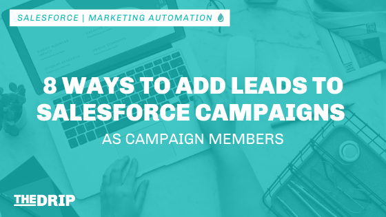 8 Ways to Add Leads to Salesforce Campaigns as Campaign Members