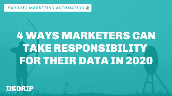 4 Ways Marketers Can Take Responsibility for Their Data in 2020