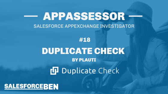 Duplicate Check In-Depth Review [The AppAssessor #18]