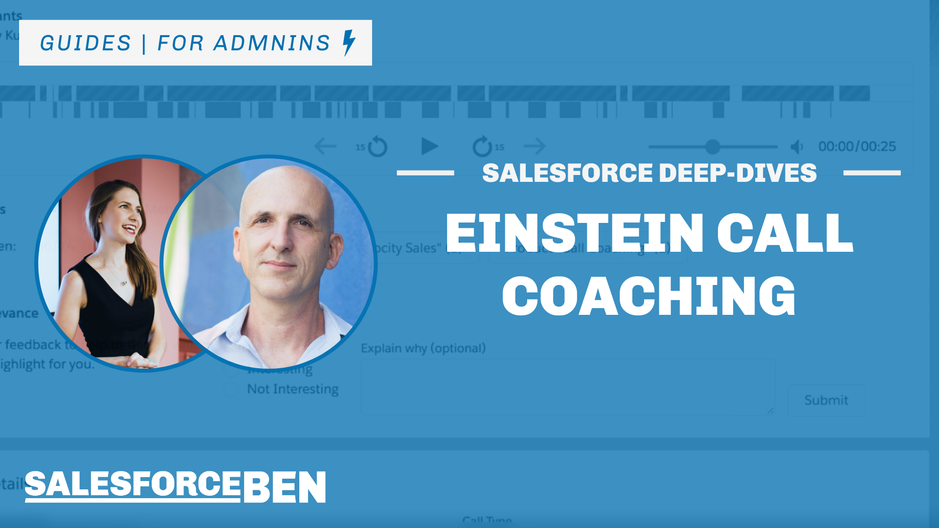 Salesforce Einstein Call Coaching Deeper Dive