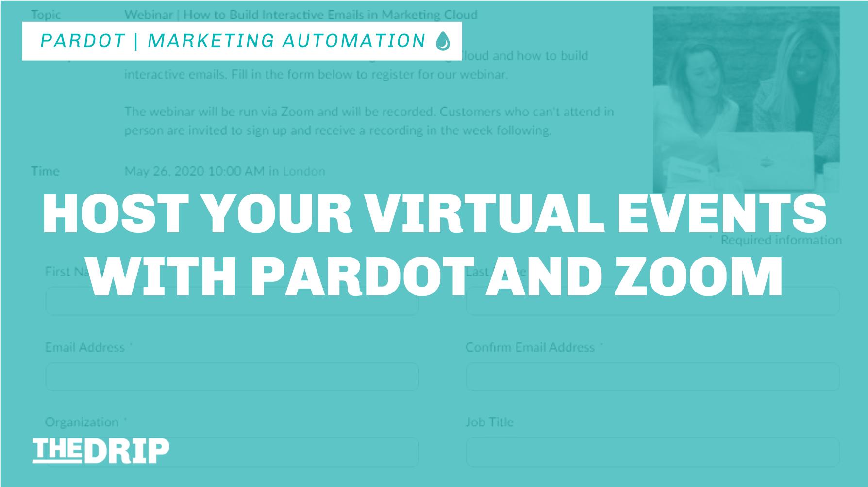 Host your Virtual Events with Pardot and Zoom