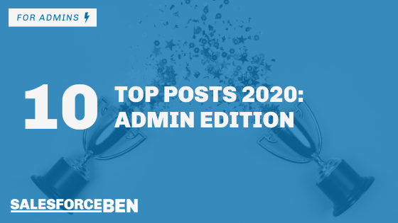 Top 10 Posts of 2020: Admin Edition