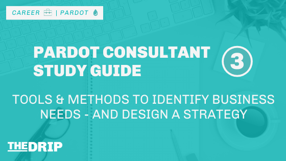 Tools & Methods to Identify Business Needs – and Design a Strategy [Pardot Consultant Study Guide #3]