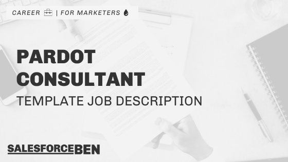 Pardot Consultant Job Description