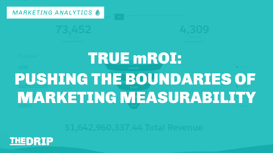 True mROI: Pushing the Boundaries of Marketing Measurability