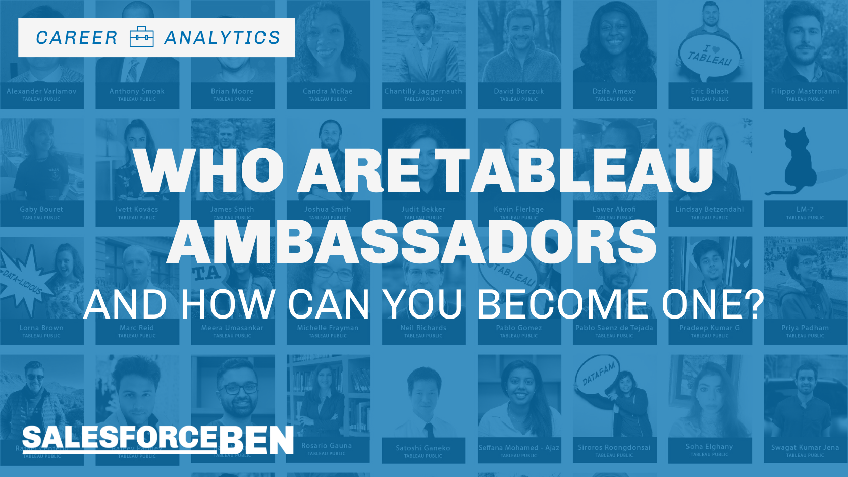 Who are Tableau Ambassadors – and How Can You Become One?