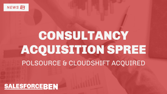 Consultancy Acquisition Spree: Polsource & Cloudshift Acquired