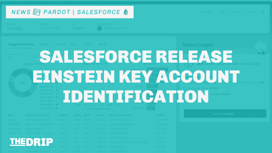 Salesforce Release Einstein Key Account Identification