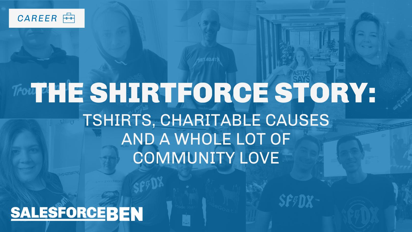 The Shirtforce Story: T-shirts & Charitable Causes