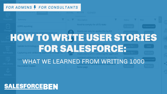 How to Write User Stories for Salesforce: What We Learned From Writing 1000