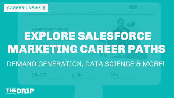 Explore Salesforce Marketing Careers – Demand Generation, Data Science, and more!