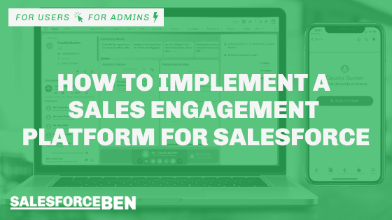 How to Implement a Sales Engagement Platform for Salesforce