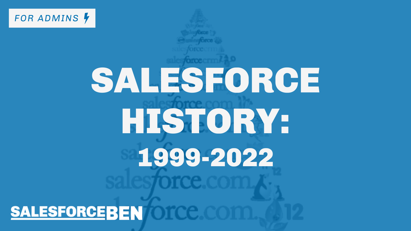 Salesforce History: Your Guide from 1999 – 2021