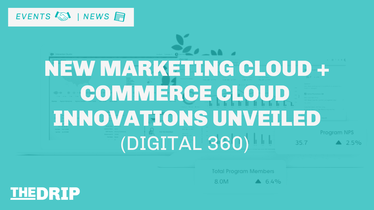 Salesforce Unveils New Marketing Cloud and Commerce Cloud Innovations (Digital 360)