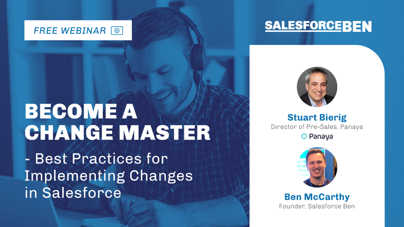 [Free Webinar] Best Practices for Implementing Changes in Salesforce