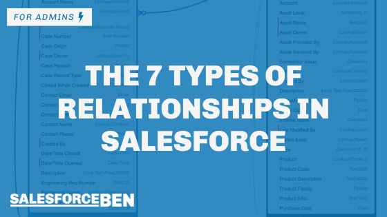 The 7 Types of Relationships in Salesforce