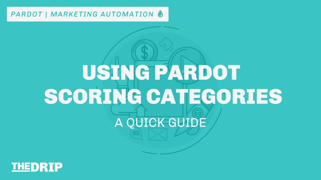 Using Pardot Scoring Categories: a Quick Guide