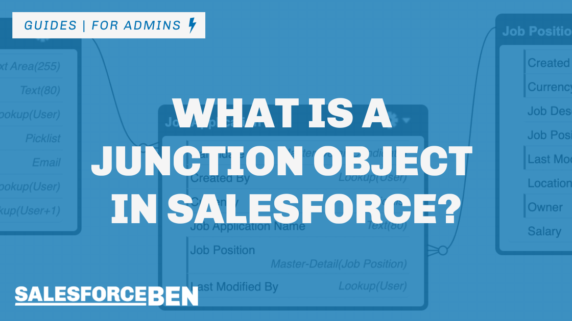 What is a Junction Object in Salesforce?