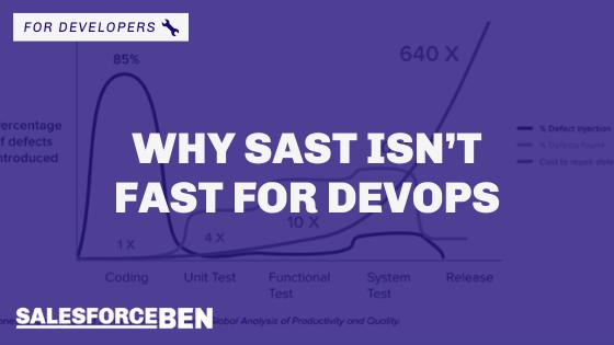 Why SAST Isn't Fast for DevOps