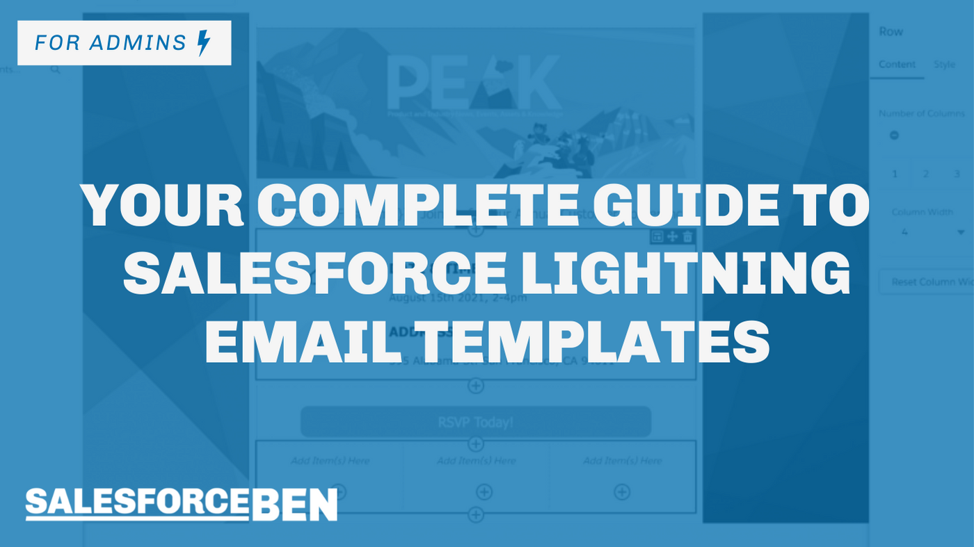 Your Complete Guide to Salesforce Lightning Email Templates