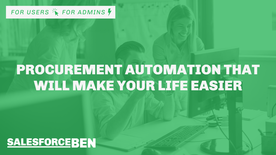 Procurement Automation That Will Make Your Life Easier