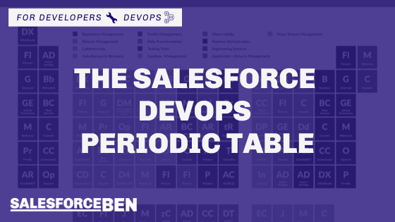 The Salesforce DevOps Periodic Table