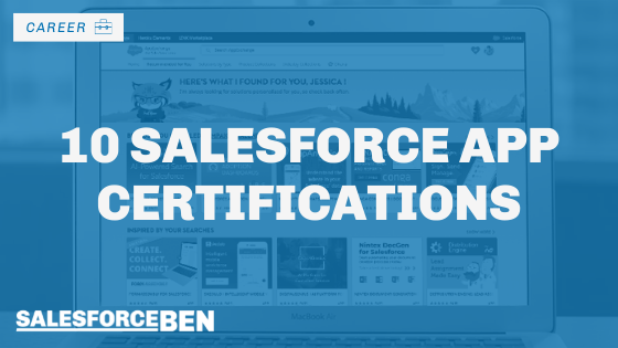 10 Salesforce App Certifications to Achieve