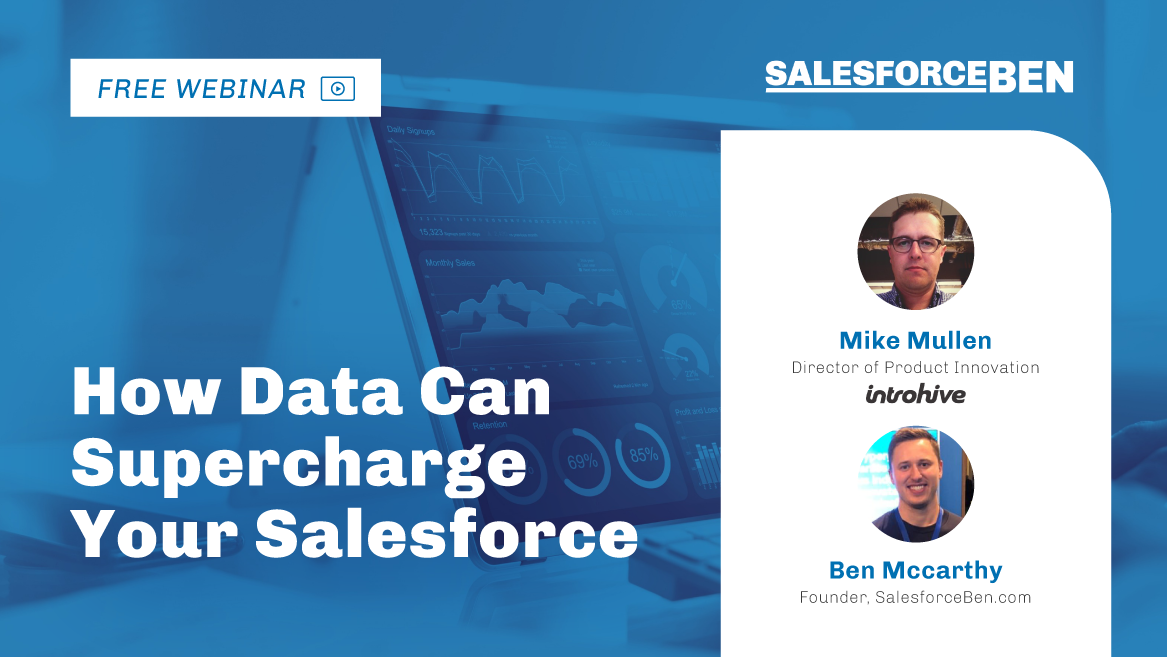 [WEBINAR] How Data Can Supercharge Your Salesforce