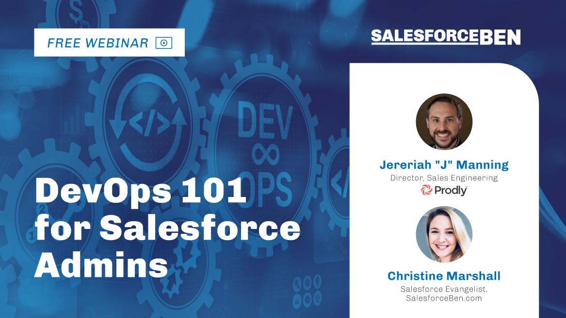 [Free Webinar] DevOps 101 for Salesforce Admins