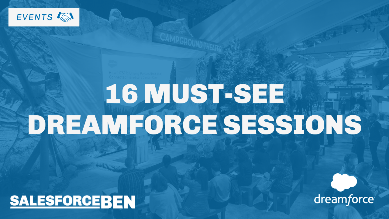 16 Must-See Dreamforce Sessions