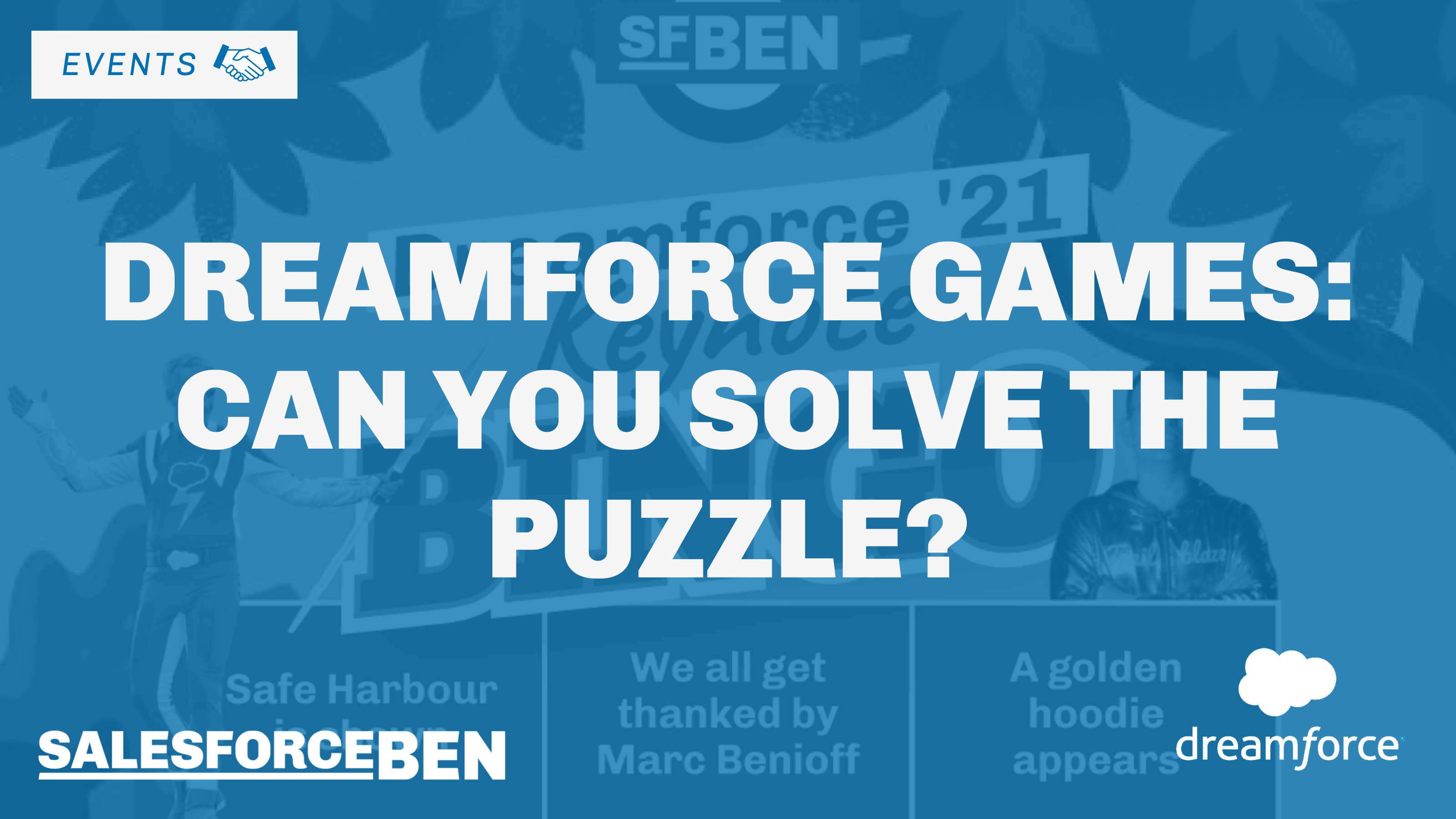 Dreamforce Games – Can You Solve the Puzzle?