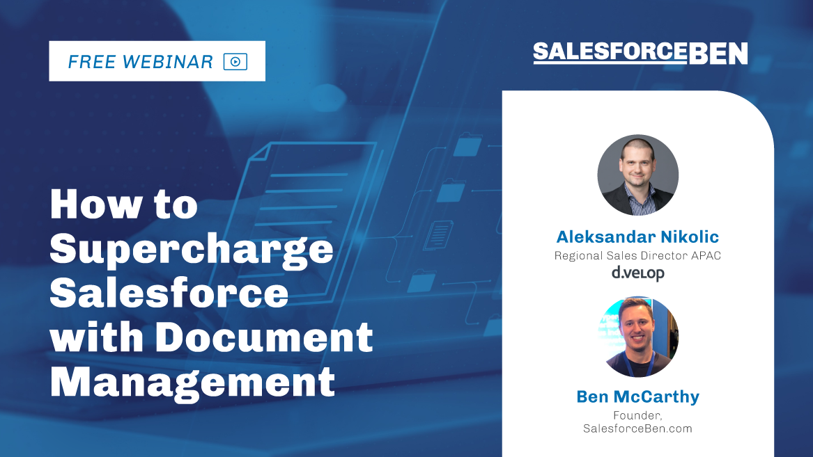 [Webinar] How to Supercharge Salesforce with Document Management