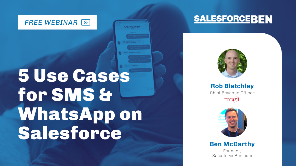 [Webinar] 5 Amazing Use Cases for SMS & WhatsApp on Salesforce
