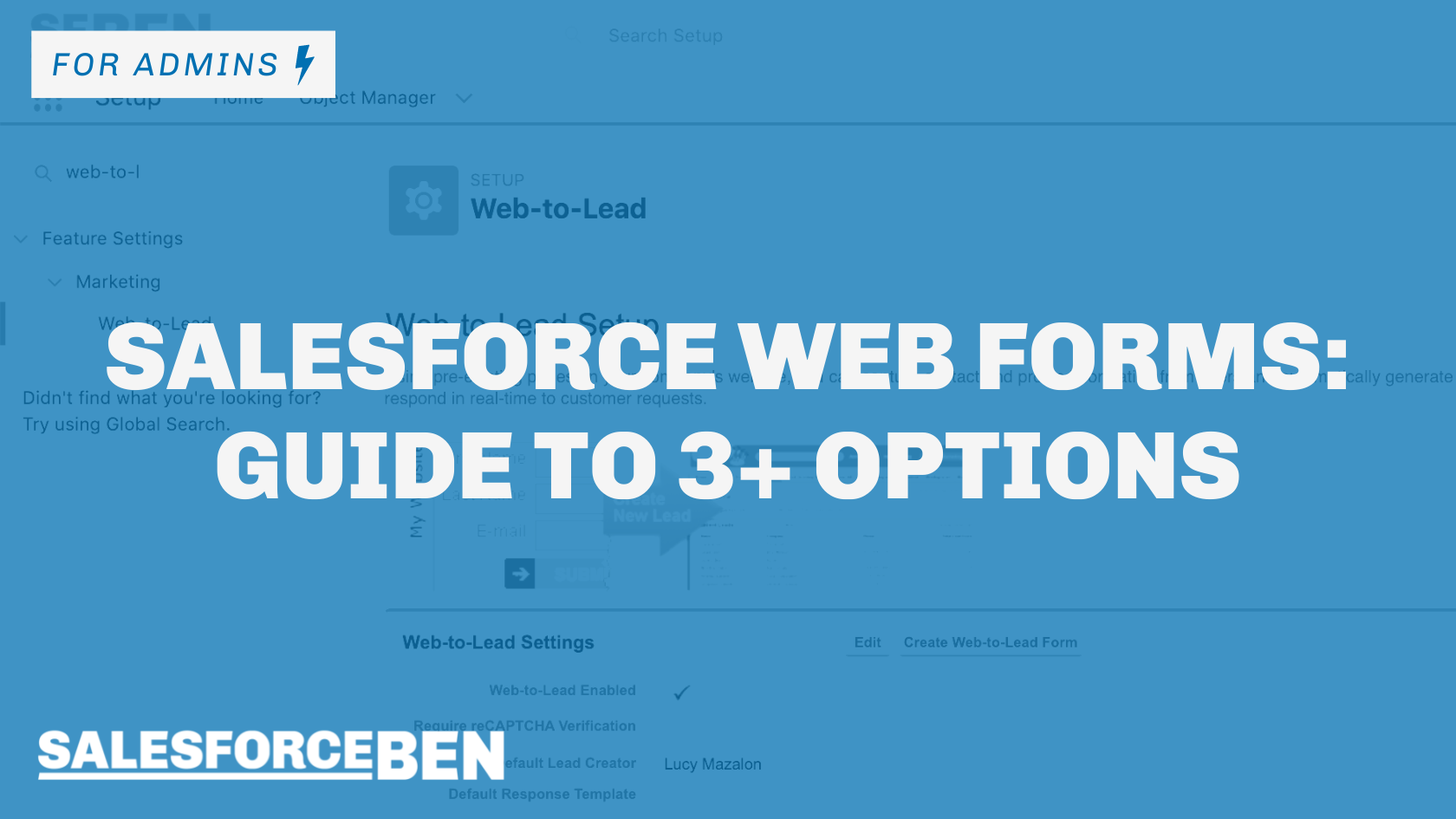 Salesforce Web Forms: Guide to 3+ Options